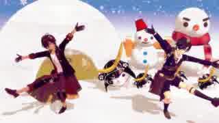 【刀剣乱舞MMD】ショタ伊達ふたりの好き!雪!本気マジック【再うp】