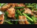 【ニコニコ動画】【鉄のフライパンシリーズ】鶏胸肉とニンニクの芽炒め【第3回】を解析してみた