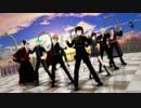 【ニコニコ動画】【MMD】紳士達にGENTLEMAN踊ってもらう【ヘタリア銀魂とうらぶ鬼徹他】を解析してみた
