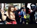 【ニコニコ動画】祝!「日之丸街宣女子」爆売れ記念デモ中 ラブラブな二人♡を解析してみた
