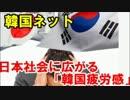【ニコニコ動画】韓国ネット 日本社会に広がる「韓国疲労感」「際限なく謝罪を求めるのもを解析してみた