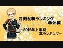 刀剣乱舞ランキング番外編 -2015年上半期草ランキング-
