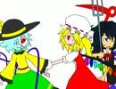 【ニコニコ動画】【第7回東方ニコ童祭】奈落のクイズマスター【非東方曲PV】を解析してみた