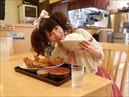 【無料】食べる女 #1「チキンカツ定食を食べる女」