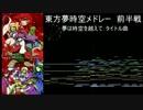 【ニコニコ動画】【第7回東方ニコ童祭】 東方夢時空オーケストラメドレー 前半戦を解析してみた