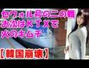 【ニコニコ動画】【韓国崩壊】KTX棺桶新幹線天国行き、発車ニダ(゚Д゚) ♪を解析してみた