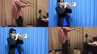 【第7回東方ニコ童祭】『幽夢』のWIN版アレンジをTp&Tbで演奏してみた