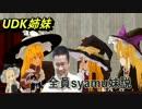 【ニコニコ動画】UDK姉妹全員syamu妹説を解析してみた