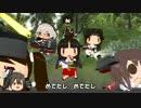 【ニコニコ動画】【MMD艦これ】へちょい日本昔ばなし15『牛若丸』【紙芝居】を解析してみた