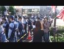 6月28日 外国人移民政策反対を訴える街宣 in 西院 5-8