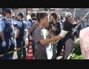 6月28日 外国人移民政策反対を訴える街宣 in 西院 6-8