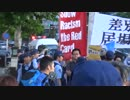6月28日 外国人移民政策反対を訴える街宣 in 西院 8-8