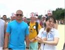 【沖縄の声】住民と米軍の交流イベント!MISAKIと真子の辺野古ハーレーリポート[桜H27/6/30]