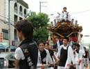 【ニコニコ動画】2013 大阪 城東だんじりまつり 地車 Float, Low cart 401.wmvを解析してみた