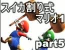 【スイカ割り式】マリオブラザーズ【協力実況】part5