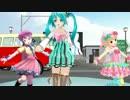 【ニコニコ動画】【MikuMikuDance】 野水伊織. 「夏色のナンシー」を解析してみた