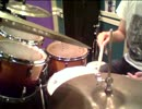 【ニコニコ動画】【ドラム練習】ハーフタイムシャッフルでの右手の使い方2通りを解析してみた