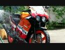 バイク洗車 レプソルMC19