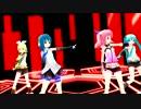 【ニコニコ動画】【MMD】 ままま式あぴミク、リン、アイ、レイでKiLLER LADYを解析してみた
