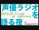 【ニコニコ動画】松嵜麗さん出演 声優ラジオを語る夜を解析してみた