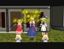 【ニコニコ動画】[アリス,フラン,魔理沙]金髪3人組でまっさらブルージーンズ「東方MMD」を解析してみた