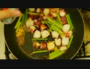 【ニコニコ動画】夏バテ解消!タコとニンニクの芽のオイスターソース炒めを解析してみた