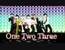 【ダンガンロンパMMD】超高校級の男子でOne・Two・Three