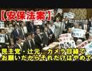 【安保法案】民主党・辻元、カメラ目線でお願いだから、