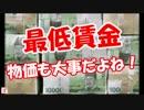 【ニコニコ動画】【最低賃金】 物価も大事だよね!を解析してみた