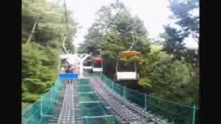 2014年08月02日 高尾山とみころも霊堂祭りに行きたい - 高尾山リフト