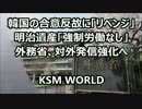 【ニコニコ動画】韓国の合意反故に「リベンジ」外務省「強制労働なし」対外発信強化へを解析してみた