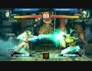 【ニコニコ動画】EVO2015 ウル4エキシビション Luffy vs 三太郎 part1を解析してみた