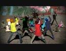 【ニコニコ動画】【MSSP】4人+αにギガンティックO.T.N踊ってもらった【MMD】を解析してみた