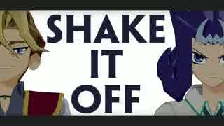 【遊戯王MMD】沢渡さんとシャークさんのShake It Off
