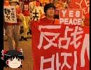 【ニコニコ動画】【ゆっくり政経】大阪、反安保デモでハングルの垂れ幕を解析してみた