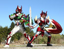 【予告】鎧武/ガイム外伝 仮面ライダー斬月/仮面ライダーバロン