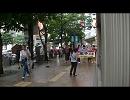 【ニコニコ動画】(ゲリラカウンター)買い物中に共産党の安保反対デモに遭遇(福岡)を解析してみた