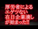 【速報】 厚労省によるエゲツない在日企業潰しが始まった!!