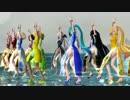 【ニコニコ動画】【MMD】Tda式チャイナガールズで Girlsを解析してみた