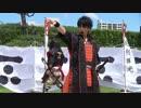 【ニコニコ動画】【安芸ひろしま武将隊】2015.7.26/広島城二ノ丸13:30回を解析してみた