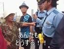 【ニコニコ動画】辺野古 2015.7.21 ② 文子おばーの反撃 を解析してみた