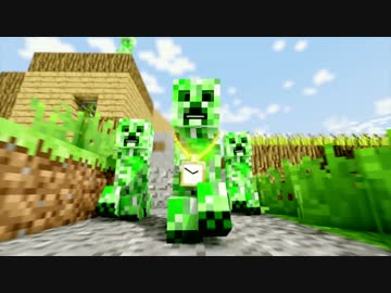 minecraft creeper rap ending a pv by ponta minecraft creeper rap ending a pvwatch from niconico voltagebd Image collections