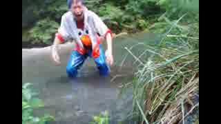 2014年09月02日 小仏峠周辺散歩 - 南浅川(小仏川)で水遊び