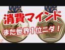 【消費マインド】 また世界1位ニダ!