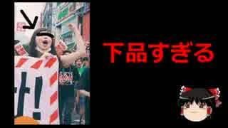 【ゆっくり保守】SEALDs女子がTwitterで強迫行為「五寸釘ぶち込むぞ」