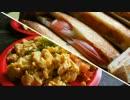 【夏野菜料理祭】おそとで作るホットサンドほか【キャンプ朝飯】