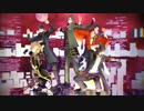 【MMD刀剣乱舞】陸奥守.同田貫.大倶利伽羅.獅子王.御手杵で一騎当千!!
