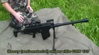チェコ共和国製対物ライフル CZW-127