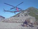(日本警察の本気)富山県警山岳レスキュー  超うまいヘリの操縦