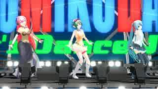【第15回MMD杯本選】メグメグ☆ファイアーエンドレスナイト【MMD】
